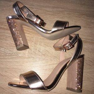 High Heels - Pumps - Sandaletten -Rose Gold