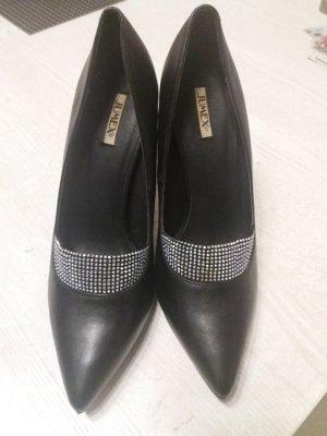 High Heels, Pumps, schwarz Gr 39,
