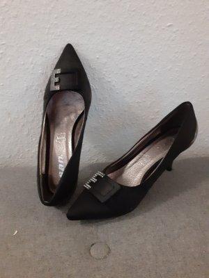 High heels Pumps schwarz Größe 39 echtes Leder