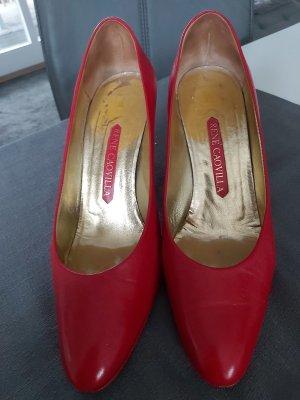 High Heels Pumps von Rene Caovilla in rot Größe 40.5