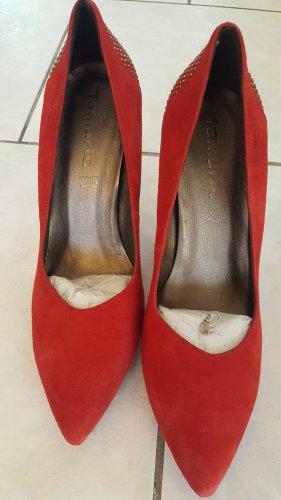 High heels red Gr. 39