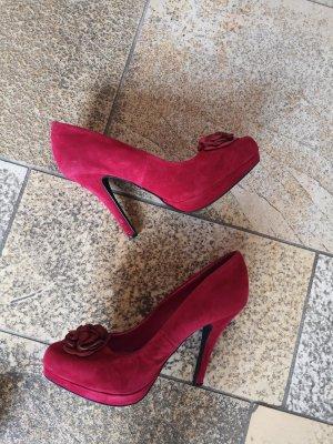 High Heels rot von Daniela Katzenberger