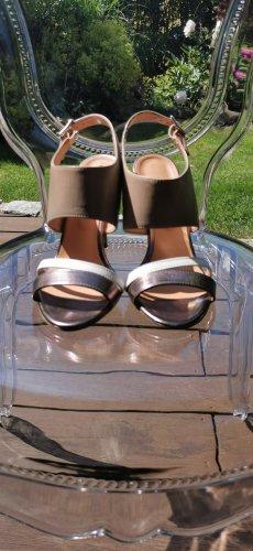 High Heels Sandalette Taupage