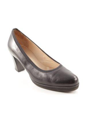 High Heels schwarz-beige schlichter Stil