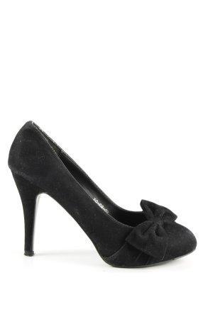High Heels schwarz Business-Look