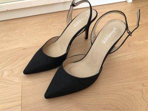High heels schwarz Glitzer von Primadonna