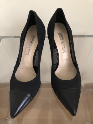 High Heels, schwarz transparent, Gr. 38