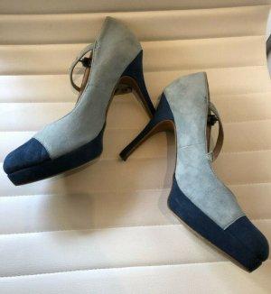 High Heels Tamaris Doppelfarbe Blau und Hellblau Gr. 41