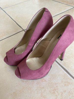 b.c. High Heels brown violet