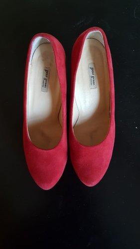 Paul Green München Zapato Tacón rojo Cuero