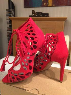 high heels von Zara in rot