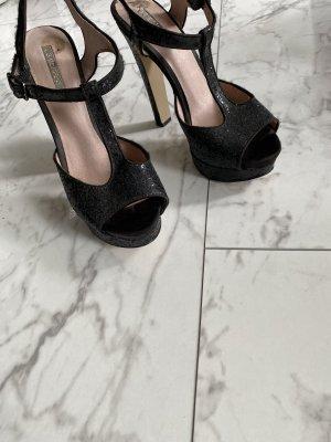 High heels wie neu Glitzer in 37