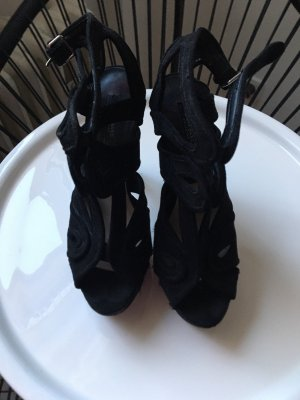 High heels Zara schwarz 12 cm