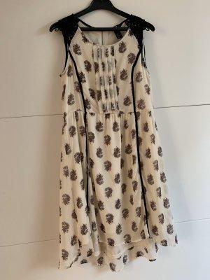 High Low Kleid gemustert