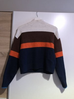 H&M Wełniany sweter Wielokolorowy