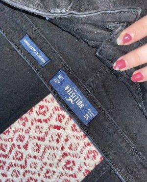 Hollister Jeans a vita alta nero-antracite