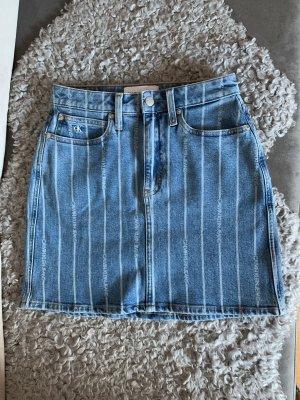 Calvin Klein Jeans Jeansowa spódnica Wielokolorowy Denim
