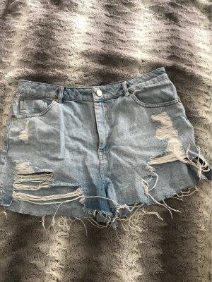 Asos Denim Short en jean bleu clair-bleu azur