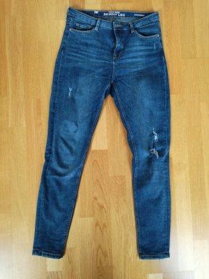 High Rise Skinny Leg Jean