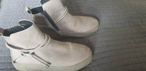Andrea Puccini Sneaker alta grigio