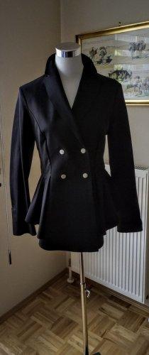 High - Everday Couture by Claire Campbell Blazer de esmoquin negro poliamida
