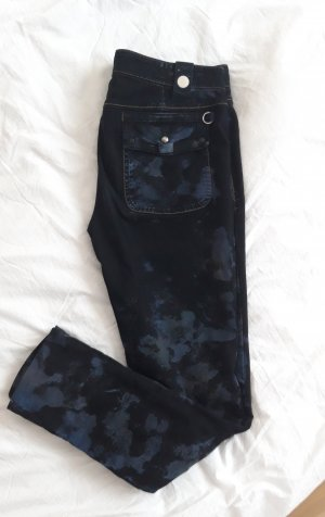 High - Everday Couture by Claire Campbell Stretch jeans zwart-donkerblauw