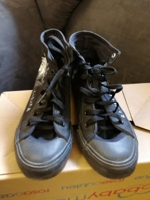 High Top Sneaker Gothicana by EMP !Customized!