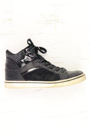High Top Sneaker Größe 39 schwarz