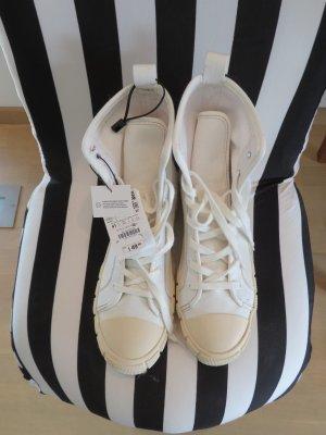 High top sneaker offwhite Zara 41 chucks