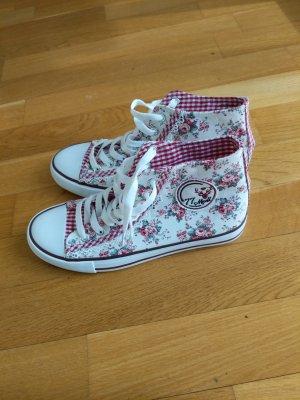 Zapatillas altas blanco