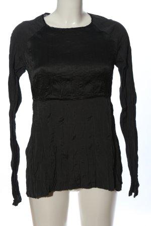 High Use Langarmhemd schwarz Casual-Look