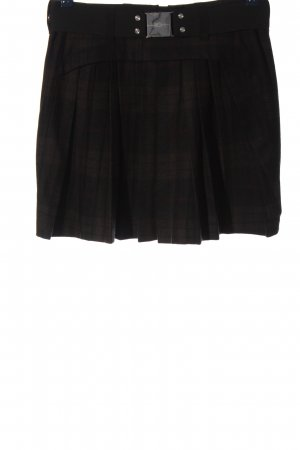 High Use Pleated Skirt black casual look