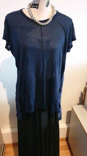 High Use Shirt Kurzarm nachtblau L mit Seidenanteil