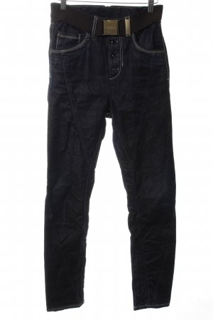 High Use Slim Jeans schwarz Casual-Look