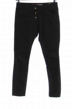 High Use Stoffhose schwarz Casual-Look