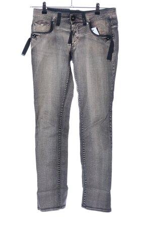 High Use Straight-Leg Jeans hellgrau Casual-Look