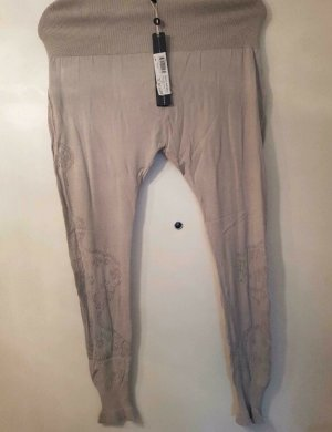 High - Everday Couture by Claire Campbell Leggings gris claro-beige claro