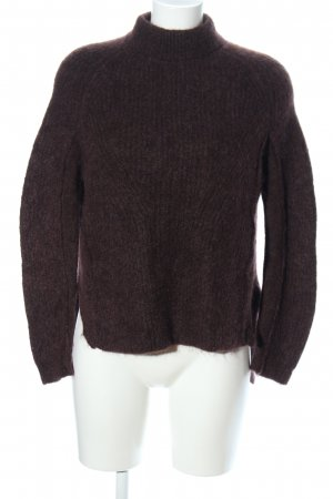 High Use Wollpullover braun Casual-Look