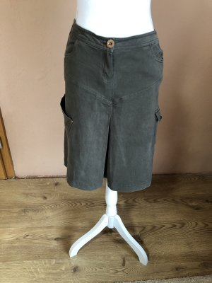 Cargo Skirt green grey-khaki