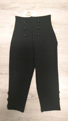 Pantalone Capri nero Poliestere
