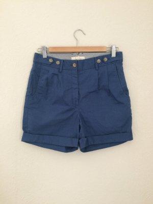 Suit Pantalón corto de talle alto azul aciano-azul Algodón
