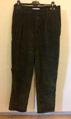 Mango Suit Corduroy Trousers multicolored