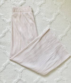 Bershka Pantalone culotte rosa pallido-rosa chiaro