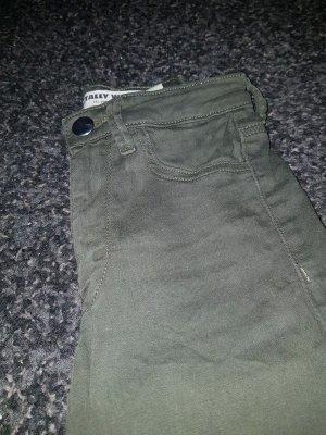 High waist grün