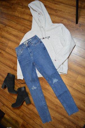 High Waist Hallie Super Skinny Jeans 38
