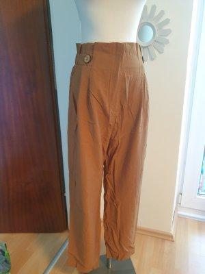 Primark Jersey Pants brown-cognac-coloured