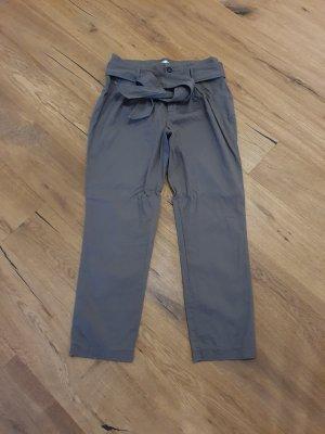 Reken Maar Pantalone a vita alta grigio-verde