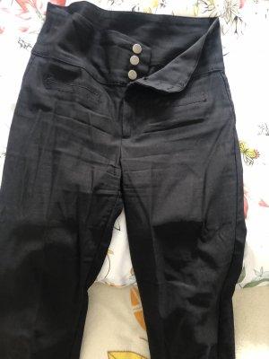Fashion Nova High Waist Trousers black