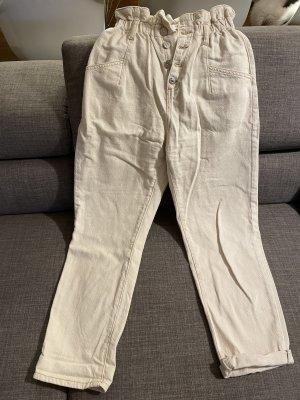 High waist Hose beige 36
