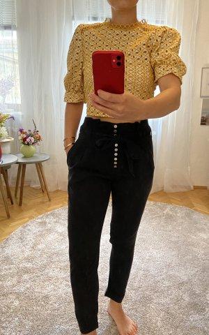 Miss Sixty Spodnie z wysokim stanem czarny